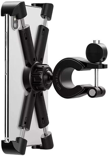 LKXOOD Soporte móvil Bicicleta Potencia,Soporte Universal Manillar, para Inteligente 3.5-6.5 pulgadasSoporte de Manillar para Bicicleta: Amazon.es: Coche y moto