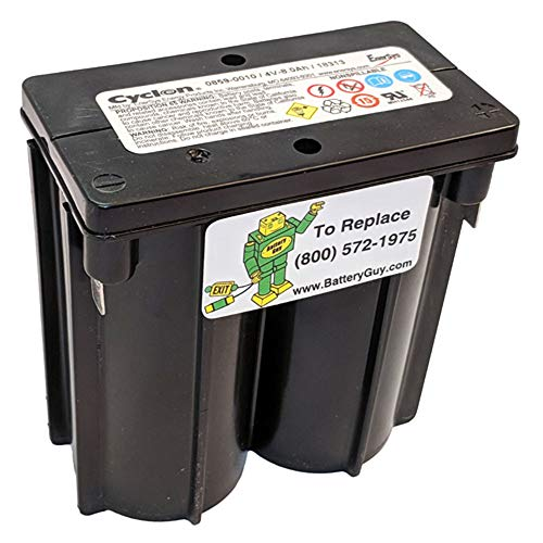 Enersys (Hawker) Cyclon 0859-0010 E-Cell 4 Volt/8 Amp Hour Sealed Lead Acid Battery by Enersys