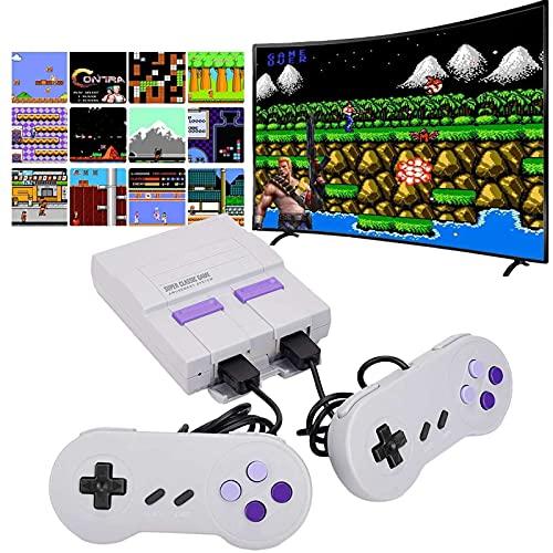 Mini consola de juegos retro clásica con 660 juegos integrados y 2 controladores NES, consola retro NES, consola de juegos de TV con salida AV para niños y adultos