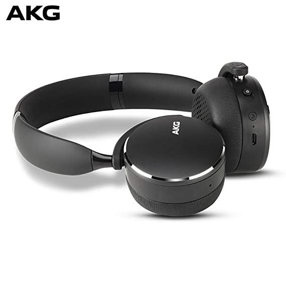 395329dc64a Amazon.com: AKG Y500 On-Ear Foldable Wireless Bluetooth Headphones ...