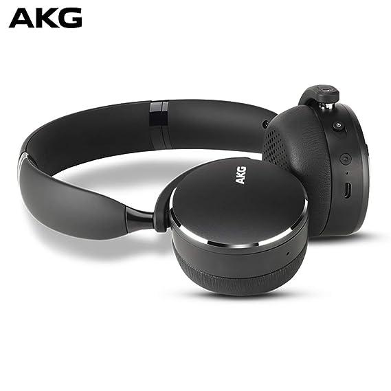 dd767271c34 Amazon.com: AKG Y500 On-Ear Foldable Wireless Bluetooth Headphones ...