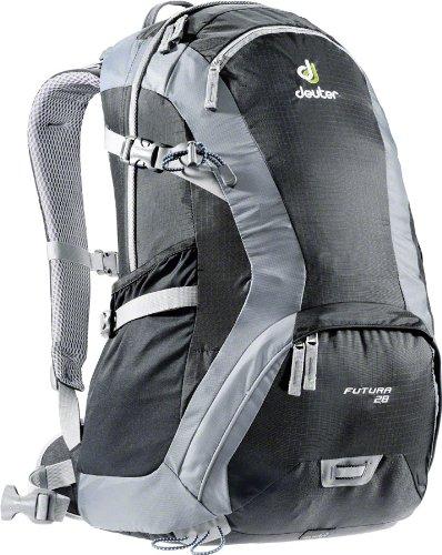 Deuter Futura 28 Backpack: Black/Titan, Outdoor Stuffs