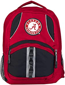 """Officially Licensed NCAA """"Captain"""" Backpack, Multi Color, 18.5"""""""