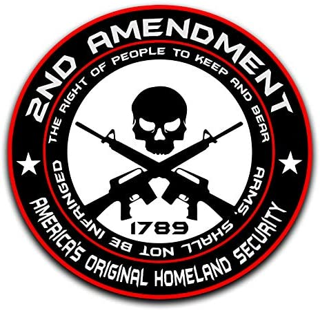 Cars Walls Laptops GI USA 2nd Amendment Decal Sticker Vinyl Right to Keep and Bear Arms 4 Premium Quality