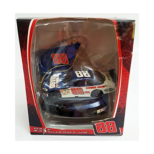 - Nascar Dale Earnhardt Jr Trevco 2008 88 National Guard Car Ornament