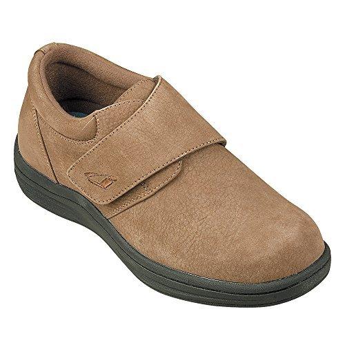 Instride Venice Women's Comfort Therapeutic Extra Depth Casual Shoe: Brown/Nubuck 6.5 Wide (D) Velcro ()