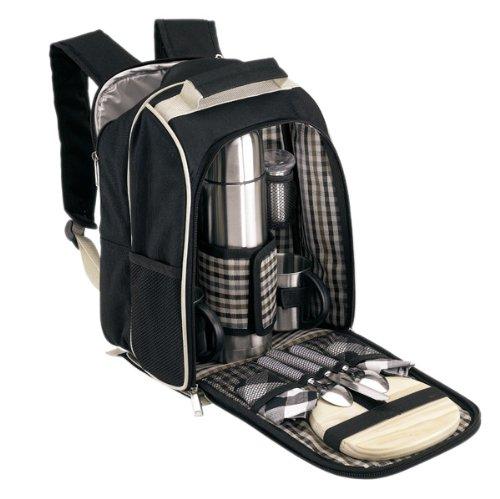 Picknickrucksack Rucksack Picknicktasche Tasche Freizeitrucksack gefüllt gefüllt gefüllt für 2 Personen Nr 09-2 B001BL1RDG | Qualität Produkt  a0da85