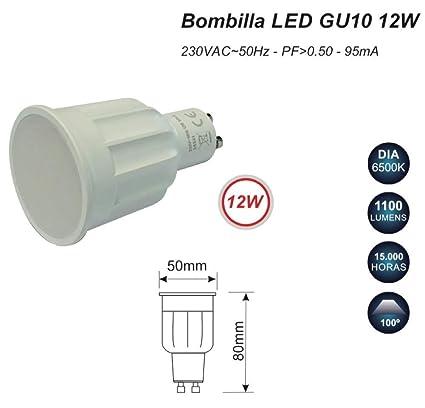 Bombilla GU-10 LED 12W