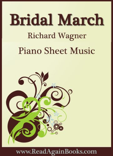 (Bridal March from Lohengrin for Piano Wedding Sheet Music)