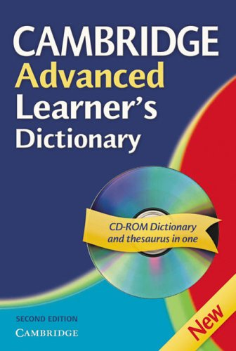 Cambridge Advanced Learner's Dictionary mit CD-ROM