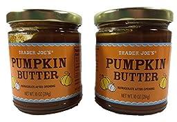Trader Joe\'s Pumpkin Butter, 2 Jars, 10 Ounces Each