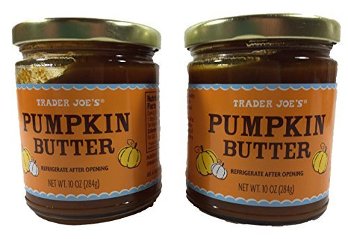 Trader Joe's Pumpkin Butter, 2 Jars, 10 Ounces Each Butter 10 Oz Jar