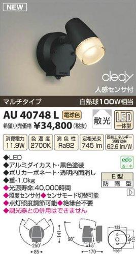 コイズミ照明 アウトドアスポットライト AU40748L B00KR55K1C 17290
