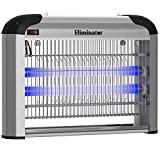 Eliminator Electric Fly Zapper Trap and Bug Zapper Killer Catcher – Protects 5,000 Sq. Ft. / Exterminates All Insects Bug Pests - Electronic Pest Control For Residential and Commercial Use [UPGRADED]