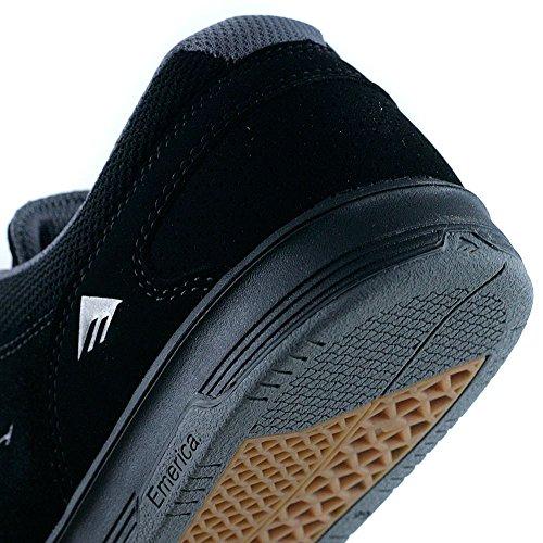 Emerica Footwear - Zapatillas de skateboarding para hombre negro negro