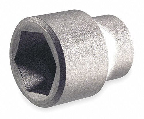 """13mm Aluminum Bronze Socket with 1/2"""" Drive Size and Natural Finish -  AMPCO"""