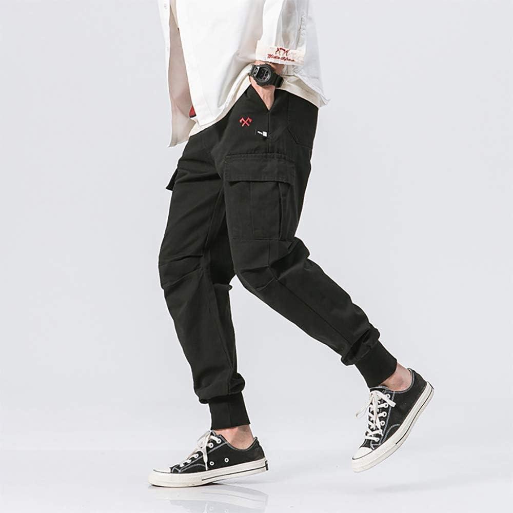 SANHION Fashion Mens Hip hop Cargo Pants Closed Bottom