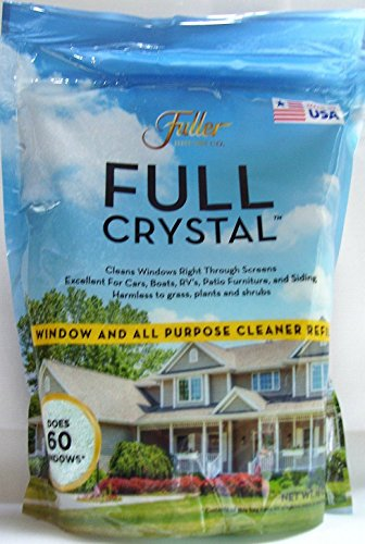 Full Sparkle Crystal Window Cleaner & All Purpose Refill Kit