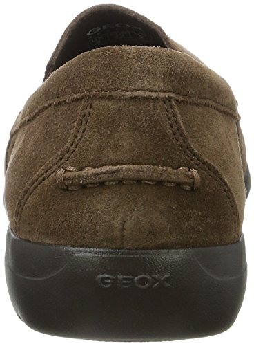 Geox Man Quest 2 Slip-on Mocassino In Ebano
