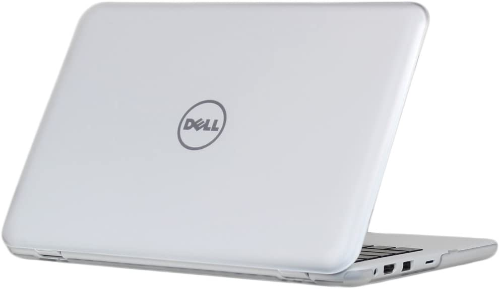 """iPearl mCover Hard Case for 11.6"""" Dell Inspiron 11 3162 / 3164 series (released after Dec. 2015, NOT compatible with older 3137/3138 and 3147 / 3148 2-in-1 series ) 3162 / 3164 Laptop (Clear)"""