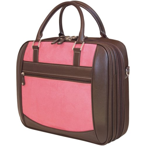 Edge Notebook Briefcase (Mobile Edge Women's Black w/Pink ScanFast TSA Checkpoint Friendly Element Laptop Bag 16 Inch PC, 17Inch MacBook, Business, Travel, Students MESFEBX)