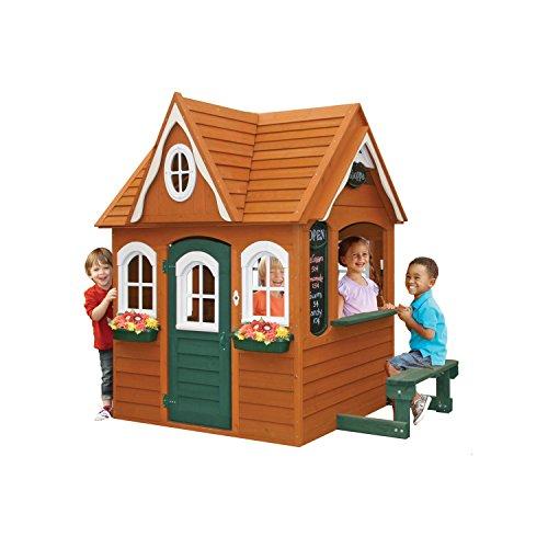 - Georgian Manor Wooden Playhouse by KidKraft