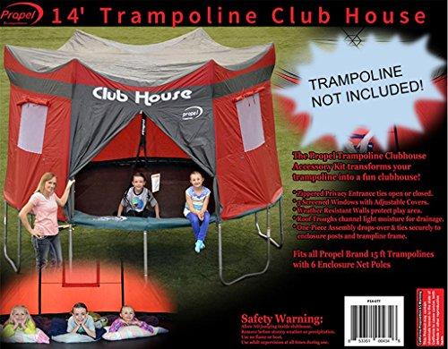 Propel Trampolines Propel Tent, 14', Maroon (Trampoline Tent Cover)