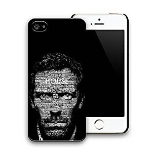 House Patterned Hard Plastic Back Case Cover for iphone 5 iphone 5s