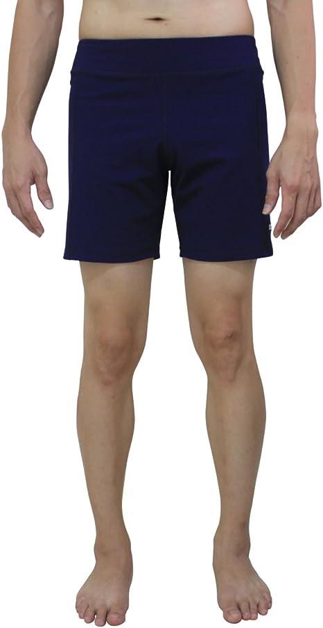 Pilates Yoga Activewear sin Bolsillos Gimnasio Ejercicio de Secado r/ápido cord/ón de Ajuste YogaAddict Yoga Shorts para Hombres