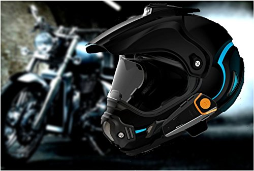 Veetop 2 X 800m Water Resistant Bluetooth Motorcycle
