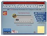 Zoom Telephonics Zoom V90 56K Dual Modem USB External Modem
