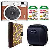 Nifty M9BR4084OL Instax Mini 90 Neo Classic Kit with 40 Exposures (Brown)