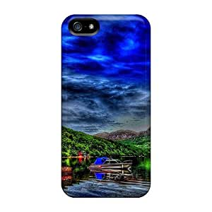 Premium Iphone 5/5s Case - Protective Skin - High Quality For Aboned House By The Lake