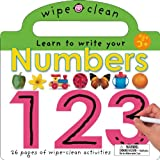 Wipe Clean Numbers, Roger Priddy, 0312492642