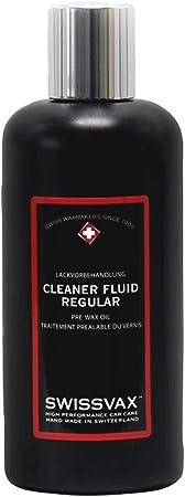 Swissvax Cleaner Fluid Regular Lackreiniger Handpolitur Ohne Schleifmittel 250ml Auto