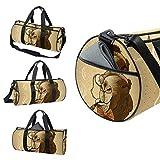 AISSO Duffel Bag for Women Men Vintage Hipster