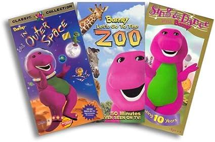 Amazon.com: Barney 3 Pack (Amazon.com Exclusive) - (Sing ...