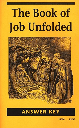 Book Of Job Unfolded Answer Key (Misc Homeschool) ebook