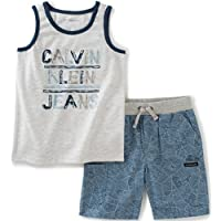 Baby Boys' 2 Pieces Muscle Top Short Set