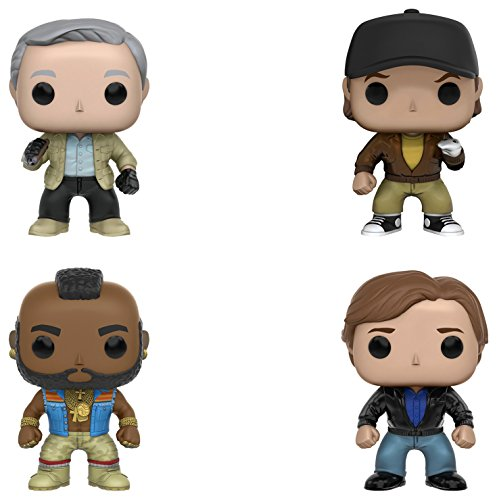 Funko A Team  Pop  Tv Collectors Set Includes Hannibal  Murdock  B A  Baracus   Faceman