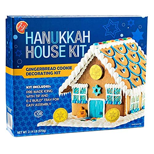 Create a Treat DIY Chanukah Hanukkah Family Traditions.Gingerbread House Kit - 2.14 lbs