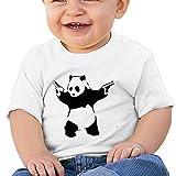Sfjgbfjs Baby T-Shirt Cool Panda Soft and Cozy Infant T-Shirt