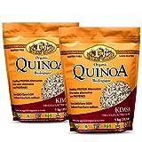 Inca's Gold Organic Tri-Colour Quinoa 2kg Combo Pack