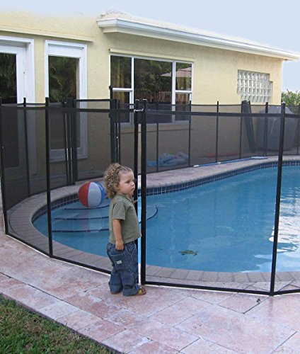 Swimming Pool Safety Fencing - Water Warden 4' Pool Safety Fence