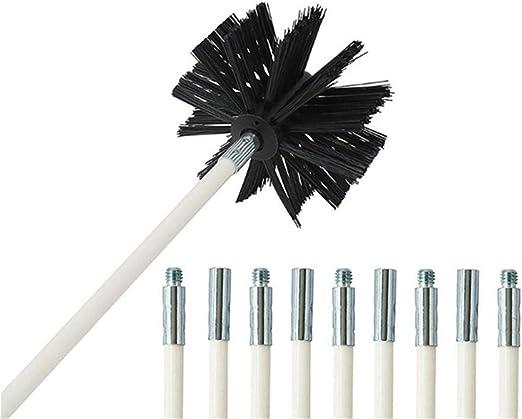 LSB-chimeneas, Lavado 1pc Chimenea de limpieza del cepillo de la máquina secadora Campana extractora de tuberías cepillo cepillo de limpieza buena elasticidad espiral Cepillo (tamaño : Brush 45 3G) : Amazon.es: Hogar