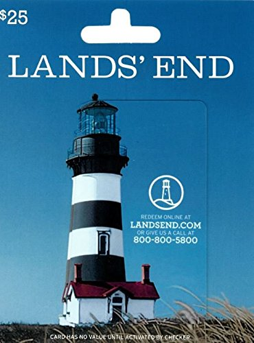Amazon.com: Lands End Gift Card $25: Gift Cards