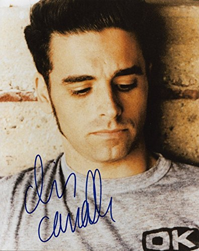 Chris Carrabba Dashboard Confessional Singer Real Hand Signed 8X10 Photo  1 Coa