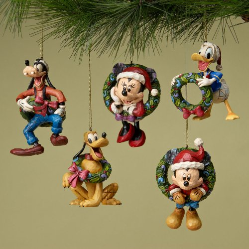 Jim Shore Disney Traditions Disney Mickey Friends Holiday