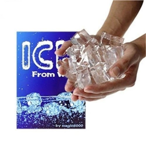 Magicians Ice from Water Gimmick Prop for Close-up Magic Trick