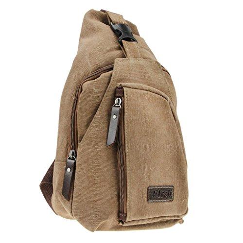 FakeFace Multifunction Backpack Crossbody Shoulder
